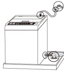 洗濯機用蛇口の水漏れ